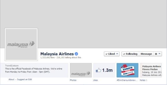 Facebook Page MAS